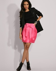 Lipsy Bow Front Tulip High Waisted Skirt