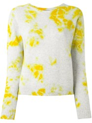 Suzusan Tie Dye Jumper Yellow Orange