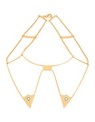 Golden Goose Deluxe Brand Necklaces Gold