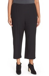 Plus Size Women's Eileen Fisher Crepe Knit Crop Pants