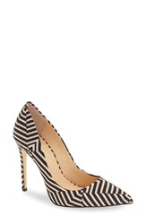 Women's By Zendaya 'Kyle' Pointy Toe Pump Black White