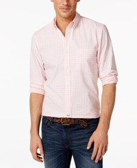 Club Room Regent Gingham Long Sleeve Shirt Only At Macy's