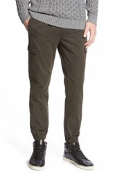 Men's Rhythm 'Atelier' Twill Cargo Jogger Pants