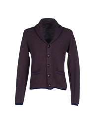 Gray Cardigans Dark Blue