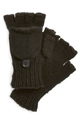 Women's Nirvanna Designs Convertible Fingerless Gloves Black