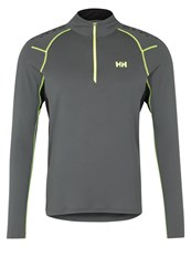 Helly Hansen Enroute Lifa Flow Sports Shirt Rock Grey