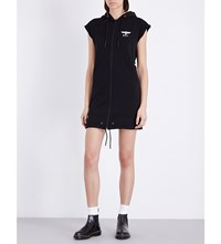 Boy London Sleeveless Cotton Hoody Black