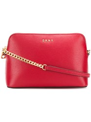 Dkny Bryant Cross Body Bag Red