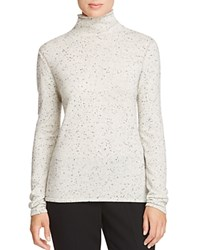 Elie Tahari Sierra Cashmere Donegal Sweater Antique Fleck