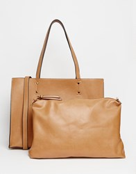 Oasis Jojo Tote Bag With Removable Inner Beige