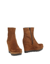 Pons Quintana Ankle Boots Brown