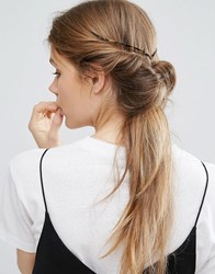 Asos Limited Edition Tortoise Back Hair Crown Brown