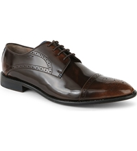 Oliver Sweeney London Bewerly Leather Derby Shoes Brown