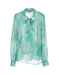 Guess By Marciano Blouses Turquoise