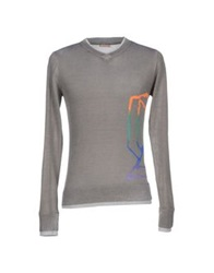 Galliano Sweaters Dove Grey