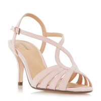 Linea Madisan Strappy Cross Over Sandals Pink