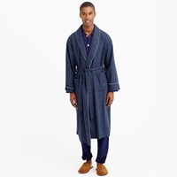 J.Crew Heathered Flannel Robe