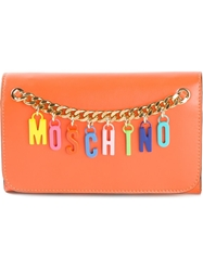 Moschino Logo Chain Wallet