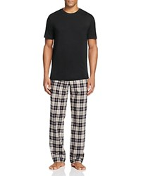 Ugg Grant Pajama Box Set Black Plaid Black