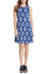 Karen Kane Women's Kaleidoscope Tie Dye A Line Dress