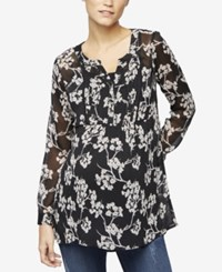 A Pea In The Pod Maternity Printed Blouse Floral
