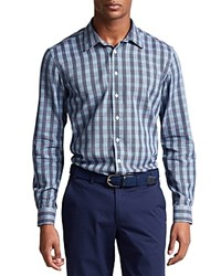 Thomas Pink Austin Check Slim Fit Casual Shirt Bloomingdale's Slim Fit Pale Blue Purple