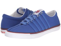 K Swiss Surf 'N Turf Og Classic Blue Ribbon Red White Canvas Men's Shoes