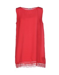Kangra Cashmere Topwear Tops Women Red