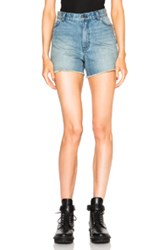 Blk Dnm Jean Shorts 13 In Blue