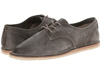 Frye Milly Oxford Charcoal Sunwash Nubuck Women's Lace Up Casual Shoes Gray