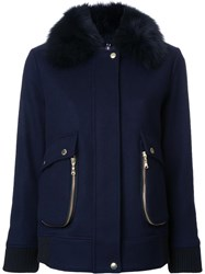 Guild Prime Zip Around Pockets Coat Blue