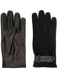 Emporio Armani Classic Driving Gloves Black