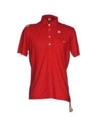Avio Polo Shirts Red