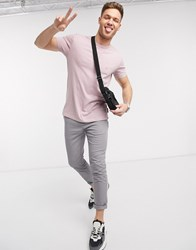 French Connection Essentials T Shirt In Dusty Pink