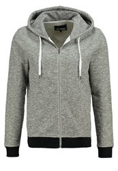 Your Turn Tracksuit Top Grey Melange Mottled Light Grey