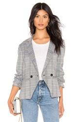 Cupcakes And Cashmere Belmont Blazer Gray