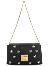 Sonia Rykiel Embellished Clutch Black