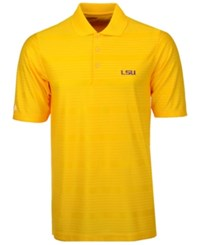 Antigua Men's Lsu Tigers Illusion Polo Shirt Gold
