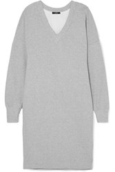 Bassike Organic Cotton Jersey Dress Gray
