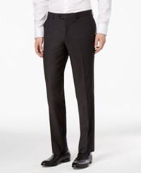 Bar Iii Men's Slim Fit Stretch Wrinkle Resistant Dress Pants Only At Macy's Charcoal