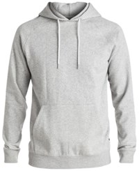 Quiksilver Men's Everyday Raglan Sleeve Hoodie Grey