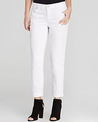 Eileen Fisher Boyfriend Jeans In White