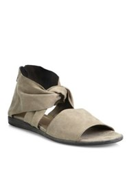 Ld Tuttle The Warp Suede Sandals Paste