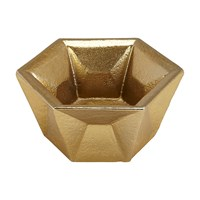 Tom Dixon Gem Tealight Holder Brass Gold