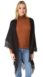 Hat Attack Fringe Wrap Black