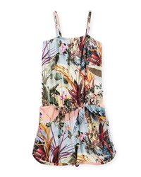 Molo Amberly Sleeveless Romper Size 3T 12 Palm Springs