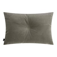 Hay Velour Dot Cushion 45X60cm Warm Grey
