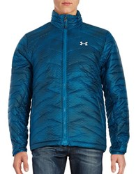 Under Armour Coldgear Reactor Packable Quilted Jacket Peacock