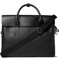 Bennett Winch Full Grain Leather Briefcase Black