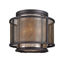 Troy Lighting Copper Mountain Ceiling Light Brown